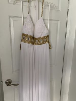 White prom dress for Sale in Los Angeles, CA