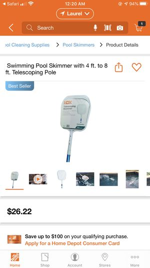 Pool skimmer for Sale in Silver Spring, MD
