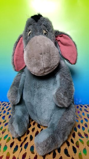 Winnie The Pooh ~ Eeyore Detachable Tail 15 inch Plush Toy for Sale in Santa Ana, CA