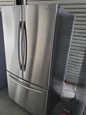 FREE DELIVERY! Samsung Refrigerator Fridge French Door 3-Door Free Delivery #905 for Sale in Riverside, CA