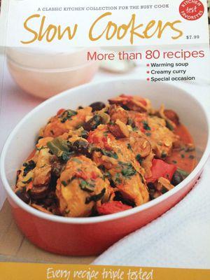 SlowCooker Cookbook for Sale in Evansville, IN