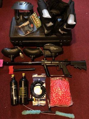 Tippmann 98 Custum Painball Marker with Upgrades and Extras for Sale in Eau Claire, WI