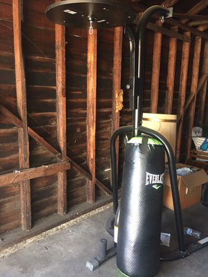 Punching Bag with Speed Bag Attachment for Sale in Alhambra, CA
