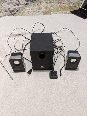 Logitech LS21 2.1 stereo speaker system for Sale in Woodbridge Township, NJ