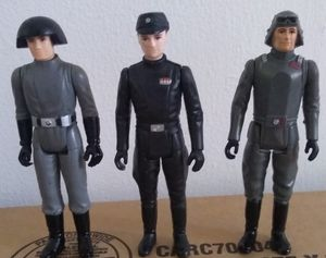 1977 1980 Star Wars Death Squad AT-AT Imperial Commander Action Figure Lot Kenner Empire Strikes Back Vintage Collectible for Sale in Pasadena, CA
