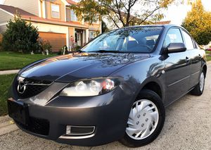 2007 MAZDA 3i AUTO LOW MILES EXCELLENT CONDITION for Sale in Plainfield, IL
