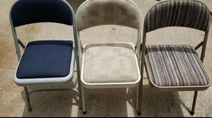 Folding padded chairs for Sale in Palm Harbor, FL