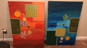 Original painting - set of 2 for Sale in Bethesda, MD
