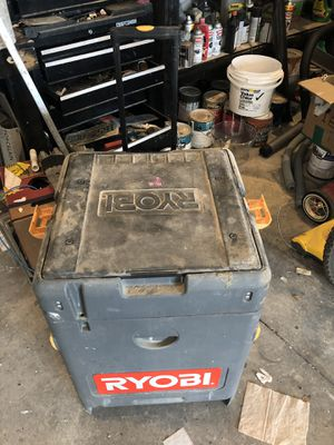 ***RYOBI *18-Volt ONE+ Cordless 7-1/4 in. Miter Circular Saw and Tool Box for Sale in Orlando, FL