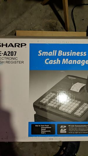 Sharp XE-A207 Register (Brand New, Still in Box) for Sale in New York, NY