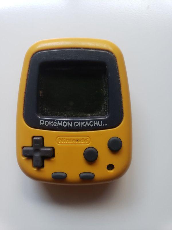Original Pokemon Pikachu Virtual Pet