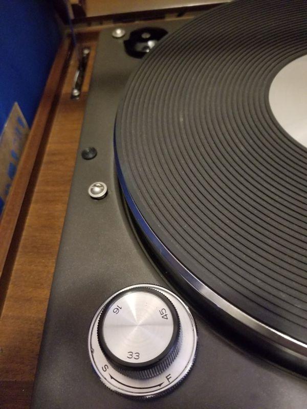 JVC Nivico SRP 471e turntable rare