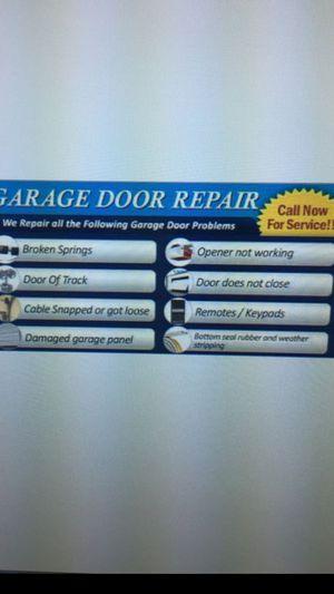 GARAGE DOORS for Sale in Aurora, CO