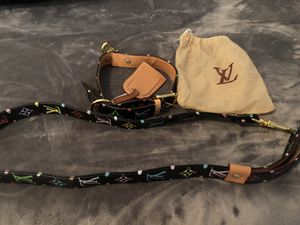 Brand new Louis Vuitton dog collar and leash for Sale in Woodbridge, VA