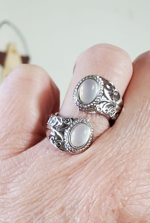 Beautiful Moonstone wrap ring adjustable for Sale in Long Beach, CA