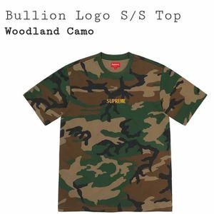 DEADSTOCK Supreme Bullion Logo S/S Shirt Woodland Camo Medium Fw20 for Sale in Hood River, OR