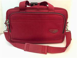SKYWAY Carry-on Red Canvas Shoulder Strap Travel Bag Duffel 18 x 9 x 10 Light for Sale in Fountain Hills, AZ