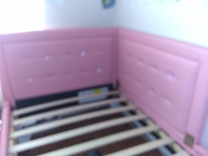 Girls pink bed frame for Sale in Hopkinsville, KY