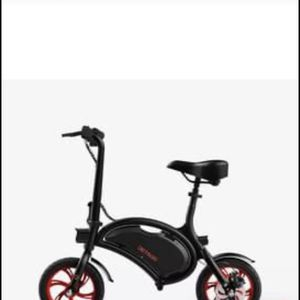 """Jetson Bolt Foldable Electric Ride Bicycle 250 Watt-36V 12"""" Wheels - Black & Red for Sale in Upper Marlboro, MD"""