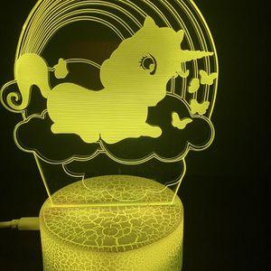 Beautiful Unicorn 🦄 3d Lamp for Sale in Enterprise, NV