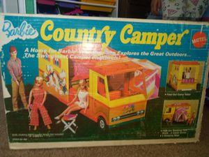 vintage barbie country camper. 1972 for Sale in Waddell, AZ