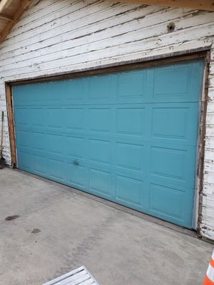 Garage Door 7x15 ft Insulated for Sale in Columbia Station, OH