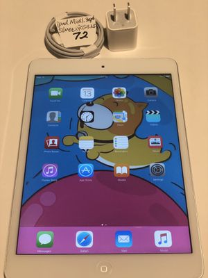 "Apple ipad mini 1,32 GB, WiFi 7.9"",iOS:9.3.5,Silver/White,A1432,Clean iCloud,Fully Functional,Good Condition.Everything working. iOS 9.3.5 for Sale in San Leandro, CA"