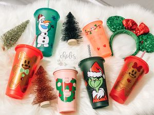 Starbucks Limited Holiday Disney Cups for Sale in Riverside, CA