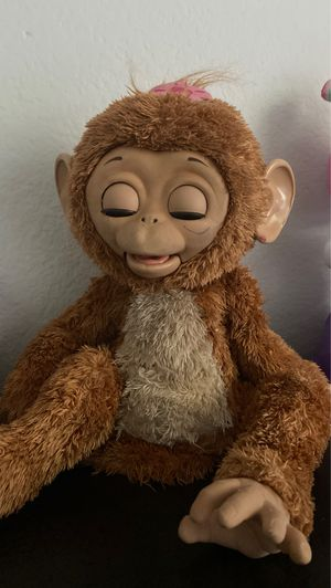 monkey toy furreal friend for Sale in Perris, CA