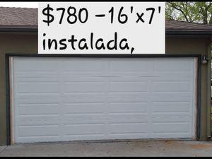 new garage door for Sale in Parlier, CA