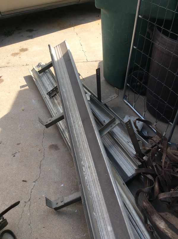 Free scrap aluminum and some steel