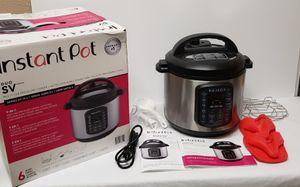 Instant Pot Duo SV 9-in-1 6qt Multi Use Pressure Cooker for Sale in Valrico, FL