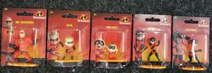 Disney The Incredibles Family Set of 5 Mini Collectible Figurines for Sale in WILOUGHBY HLS, OH
