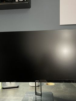 """24"""" AOC Ultra Slim Monitor 24V2H for Sale in Riverside,  CA"""