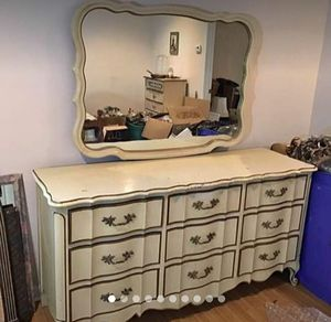 French provincial dresser with mirror for Sale in Atlanta, GA