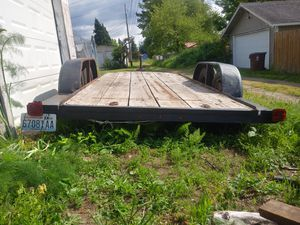1969 flat bed car / utility trailer for Sale in Tacoma, WA