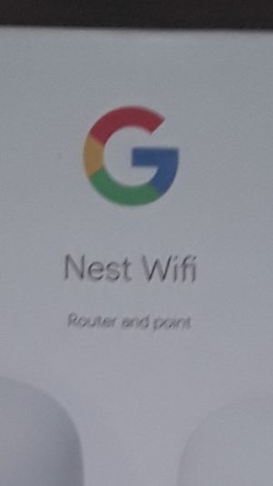 WIFI ROUTER NEST NEW AND ALSO POINT GOOGLE NESTS GOOGLES MADE OVER 3799 SQUARE FOOTAGE OF COVERAGE RETAILS OVER $300 for Sale in Garden Grove, CA