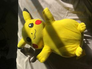 Branded LARGE Pikachu stuffed animal. for Sale in Molalla, OR