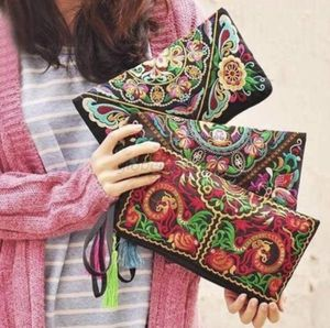 Women Ethnic Handmade Embroidered Wristlet Clutch Bag Vintage Purse Wallet Boho for Sale in Dallas, TX