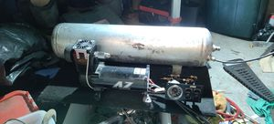 Zenith compressor and gages with 5 gallon aluminum tank for Sale in Huntington Beach, CA