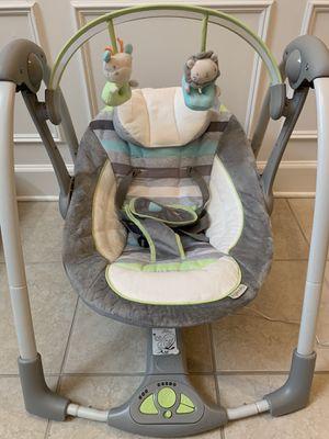 Ingenuity baby swing FOR SALE - $35 for Sale in Woodbridge, VA