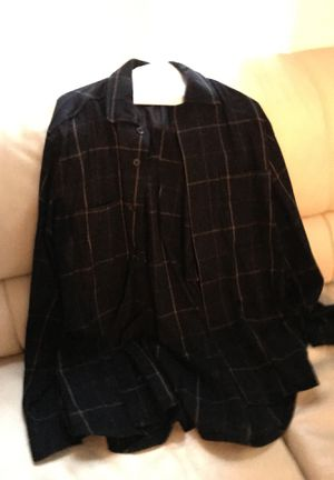 Men's plaid wool shirt size L for Sale in Washington, DC