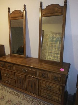 Chest of Drawers with Twin Mirrors for Sale in Fort Wayne, IN