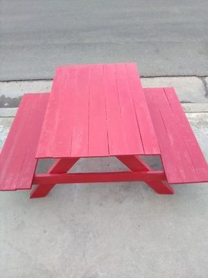 Kids picnic table for Sale in Bakersfield, CA