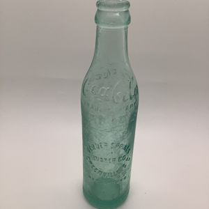 Antique Coca Cola Straight Side Bottle- Verner Springs Water Co. Greenville SC-1900 for Sale in Miami, FL