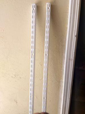 Closet shelving bracket for Sale in Las Vegas, NV