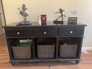 Black Sofa Table and Side Tables for Sale in Clovis, CA