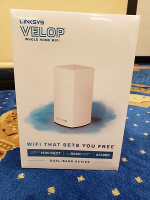 2 BRAND NEW SEALED Linksys Velop Dual Band AC1200 Wifi Routers for Sale in Stockton, CA