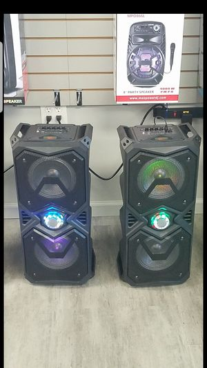 Max POWER Bluetooth Speakers for Sale for Sale in Dallas, TX