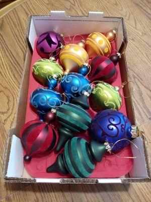 Vintage felt ornaments all 12 for $8 for Sale in Oceanside, CA
